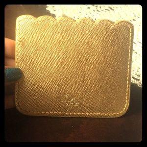 Loft vegan leather card holder